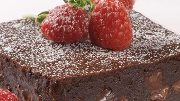 Brownies med choklad