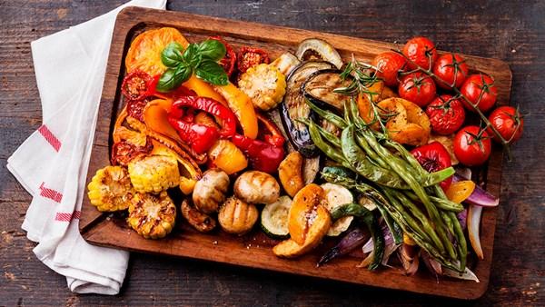 Juli: Konsten att grilla grönsaker