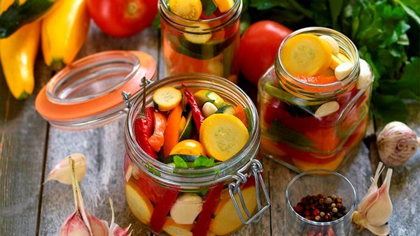 Picklade grönsaker!
